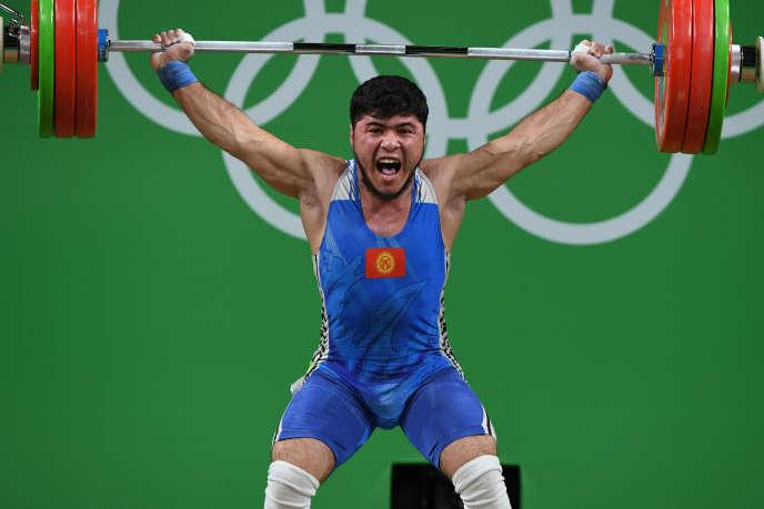 Izzat Artykov, médaillé de bronze, est le premier exclu des Jeux de Rio.