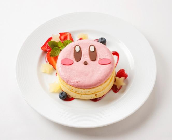 Le Kirby no funwari pankeki, ou «pancake moëlleux »de Kirby, nouvelle spécialité de Nintendo.