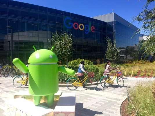Siège social de Google. San José -Silicon Valley. Etats-Unis.