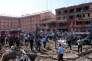 Image après l'attentat d'Elazig, dans l'est de la Turquie, le 18 août.