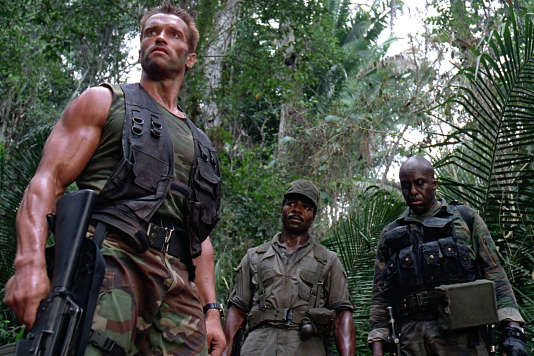 Arnold Schwarzenegger dans « Predator» (1987), de John McTiernan.