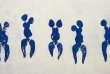 «Anthropométrie de l'époque bleue (ANT 82)» (1960), d'Yves Klein, réalisée avec du pigment pur et de la résine synthétique.