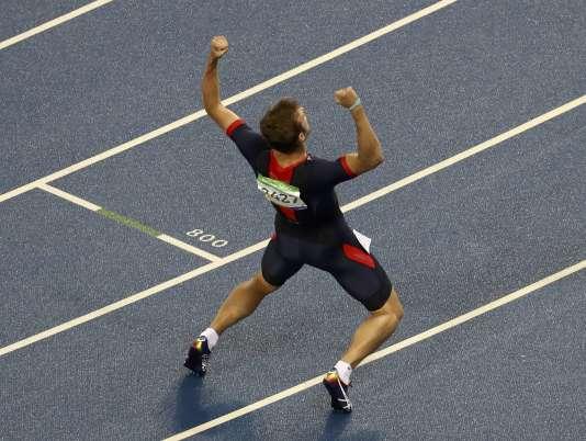 Christophe Lemaitre a pris la troisième place jeudi derrière Usain Bolt et Andre De Grasse.