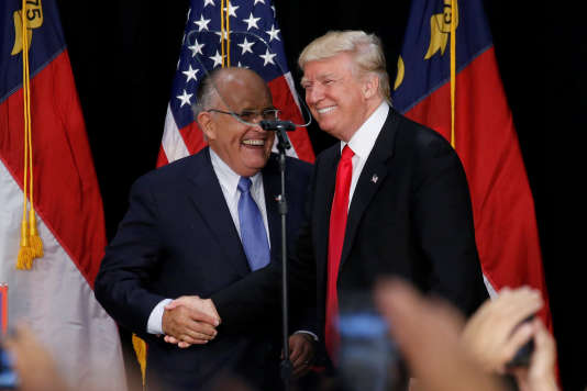 Rudy Giuliani avec Donald Trump.