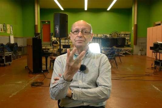 Le directeur du festival Jazz Campus en Clunisois, Didier Levallet.