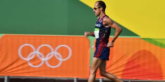 Yohann Diniz, vendredi 19 août à Rio.