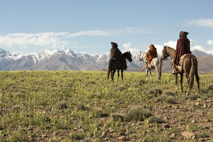 Une scène du film espagnol, marocain, français et qatari d'Oliver Laxe, « Mimosas, la voie de l'Atlas».