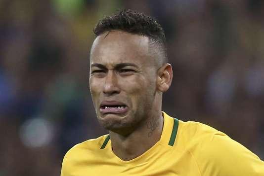 Le Brésilien Neymar, en août 2016.