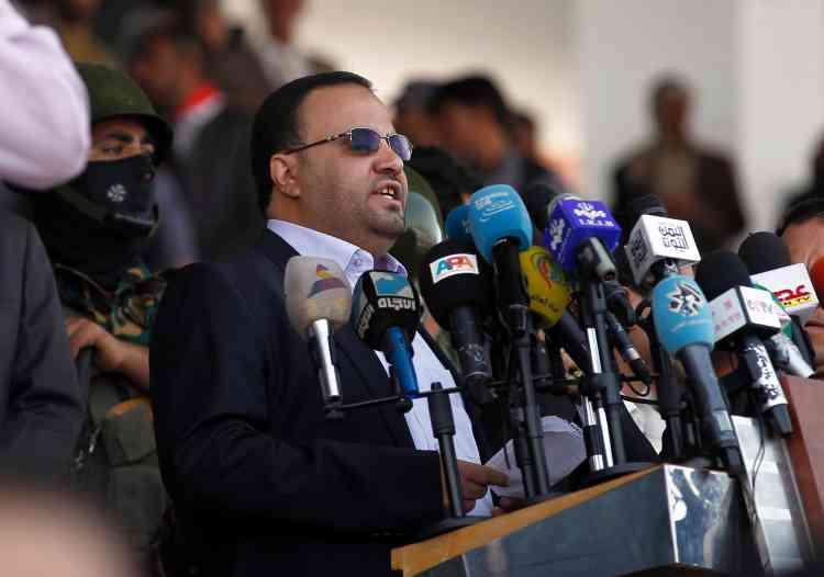 Salah al-Sammad, chef du conseil politique du mouvement chiite, s'est exprimé devant la foule. Il a exhorté les pays étrangers à « respecter la volonté du peuple yéménite». Dans un autre discours diffusé à la télévision, il a assuré « nous tendons toujours la main à la paix». La formation de ce conseil politique a été dénoncée par les négociateurs de l'ONU.