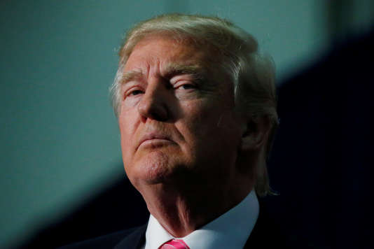 Donald Trump lors d'un meeting àFredericksburg, en Virginie, le 20 août 2016.