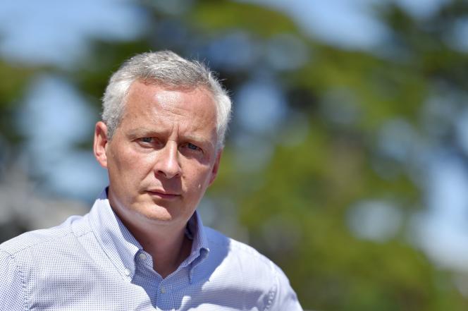 Bruno Le Maire en août 2016 à Quiberon.