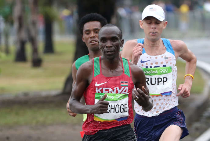 Eliud Kipchoge,Feyisa Lilesa, et Galen Rupp ont dominé le marathon.