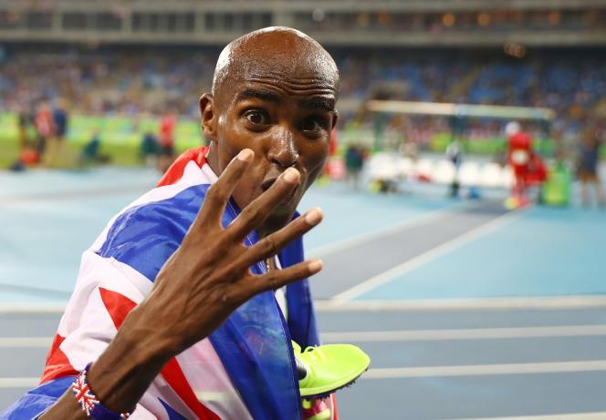 Le Britannique a remporté samedi son quatrième titre olympique en s'imposant en finale du 10 000 m.