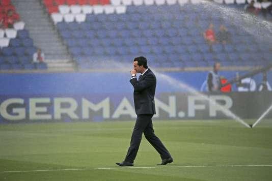 L'entraîneur du PSG Unai Emery.