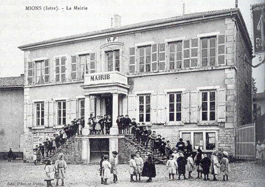 L'école de Mions en Isère