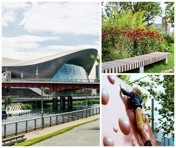 Le parc olympique Reine Elizabeth, à Londres.