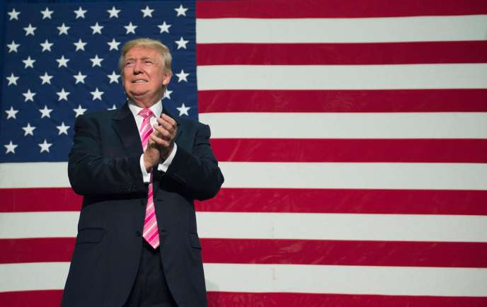 Donald Trump àFredericksburg (Virginie), 20 août 2016