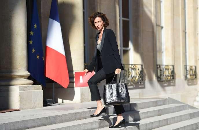 La ministre de la culture, Audrey Azoulay.