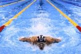 Le nageur américain Michael Phelps aux Jeux olympiques de Rio de Janeiro, le 10 août 2016.