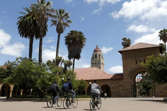 Le campus de Stanford, en Californie.