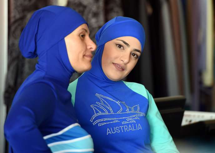 Présentation de modèles de«burkini» le 19 août 2016 à Sydney, en Australie.