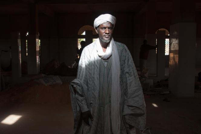 L'imamMohamed Moustapha Ahmed en mai 2016.