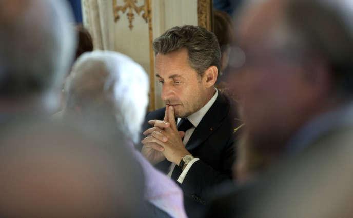 Nicolas Sarkozy en 2013 à Bruxelles.