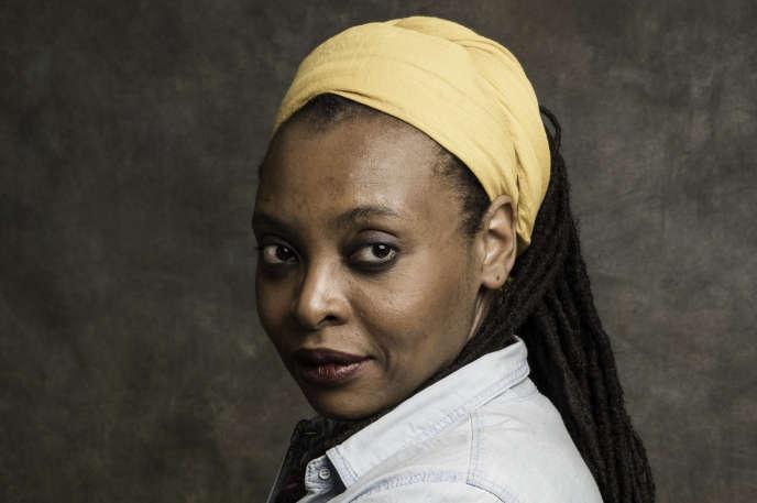 L'écrivaine originaire du Cameroun, Léonora Miano.