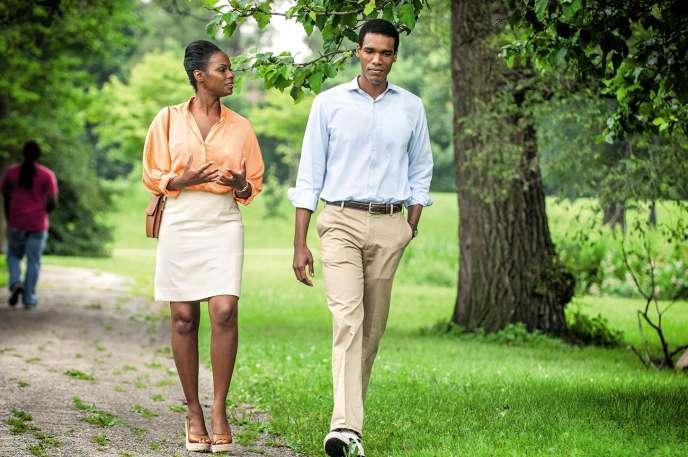 Tika Sumpter et Parker Sawyers incarnent les jeunes Michelle Robinson et Barack Obama dans«First Date».