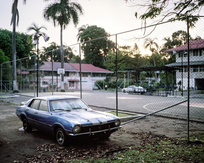Le quartier de La Boca, à Balboa, qui fut le centre administratif de la zone du canal.