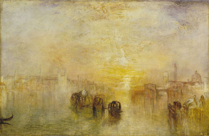 «Départ pour le bal (Saint Martino)», de William Turner, huile sur toile (61,6 x 92,4cm) exposée en1846.