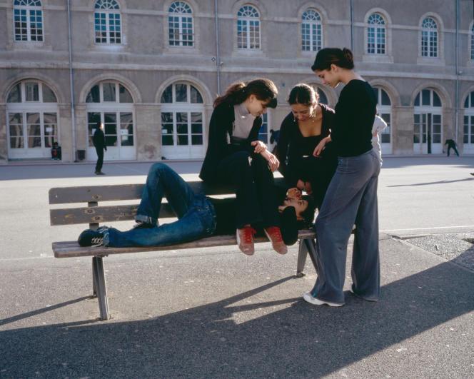 Au lycée Thiers, à Marseille (Bouches-du-Rhône), en février 2007.