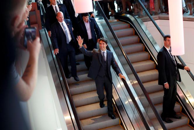 Justin Trudeau, le 24 août à Ottawa.