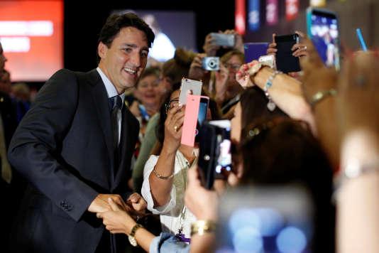 Justin Trudeau le 24 août à Ottawa.