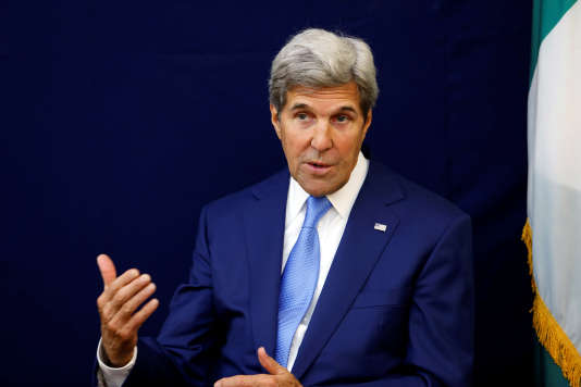 Le chef de la diplomatie américaine, John Kerry.