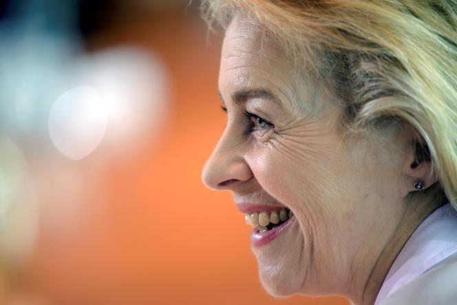 La ministre allemande de la défense Ursula von der Leyen, à Berlin, le 24 août.