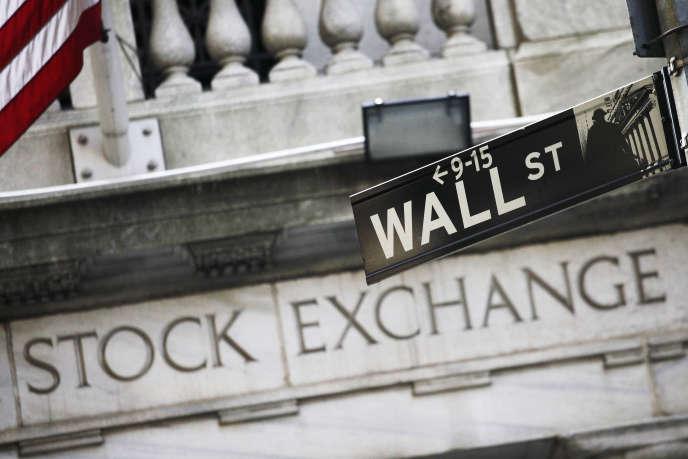 «Les niveaux de taux d'intérêt demeurent très près des plus bas historiques. Ce qui signifie qu'ils n'anticipent pas une résurgence de l'inflation» (Photo:Wall Street, à New York).