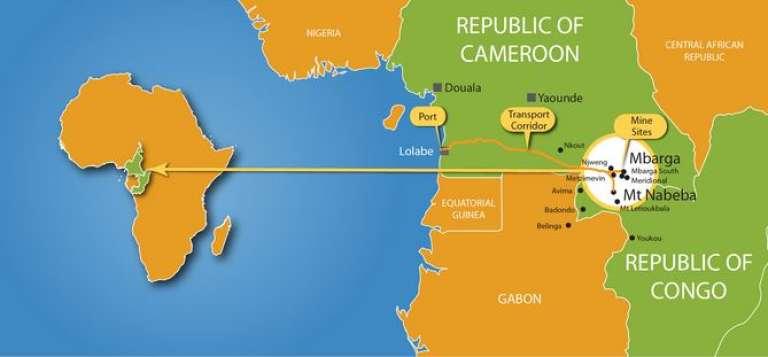 Le projet d'extraction de minerai Mbalam-Nabeba au Congo-Brazzaville par le groupe australien Sundance Resources Limited.