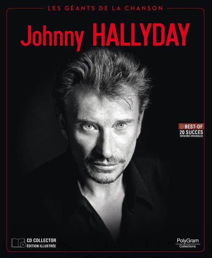 Livre Cd Johnny Hallyday