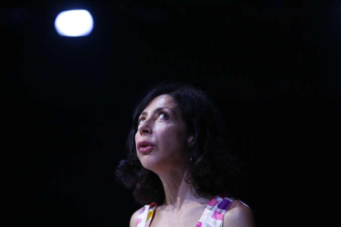 L'écrivaine Yasmina Reza.
