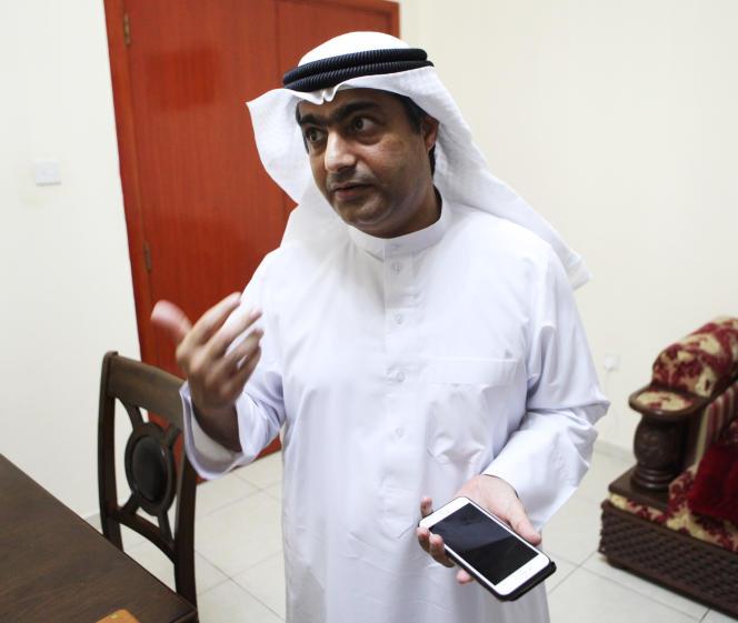 L'activiste Ahmed Mansoor, grâce à qui trois importantes failles d'iOS viennent d'être corrigées.