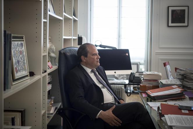 Le premier secrétaire du Parti socialiste, Jean-Christophe Cambadelis, le 25 août.
