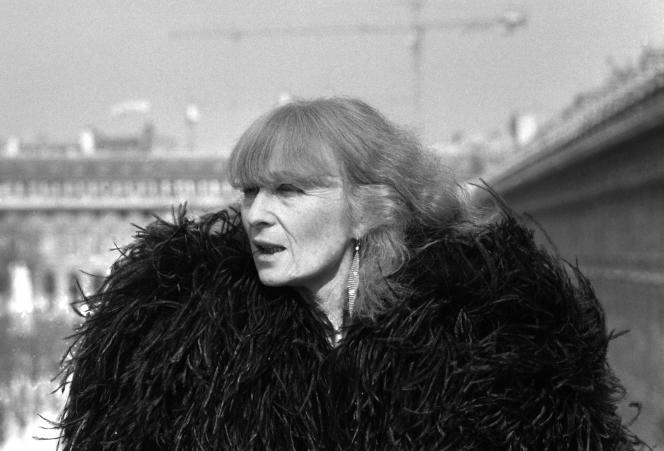 La styliste Sonia Rykiel, à Paris en mars 1984.
