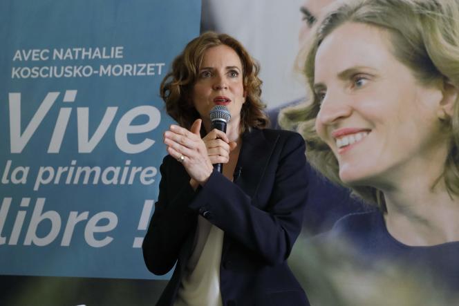 Nathalie Kosciusko-Morizet, le 25 août à Paris.