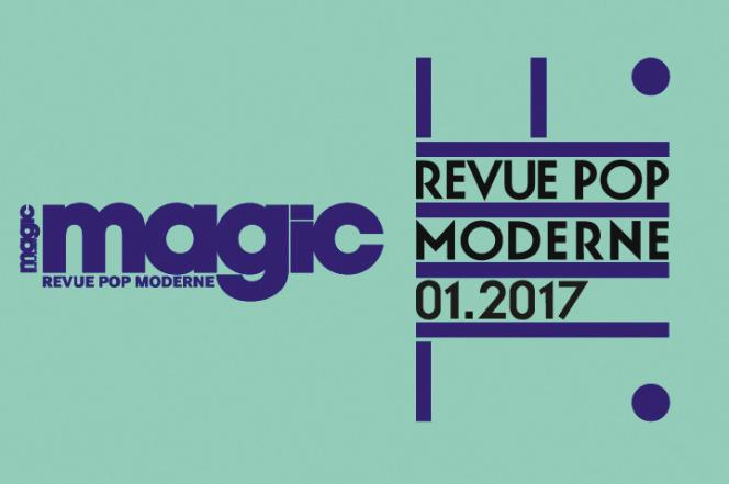 Capture d'écran du visuel d'annonce du retour du magazine musical « Magic» en janvier 2017.
