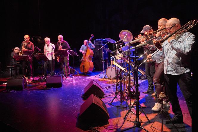 Le Brotherhood Heritage au festival Jazz Campus en Clunisois (Saône-et-Loire), vendredi 19 août 2016.