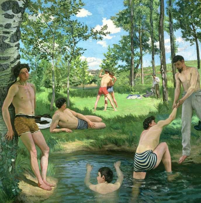 « Scène d'été» (1869), de Frédéric Bazille.