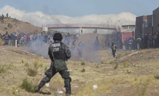 Des affrontements entre mineurs et forces de l'ordre avaient déjà causé des morts dans les derniers jours à Panduro.