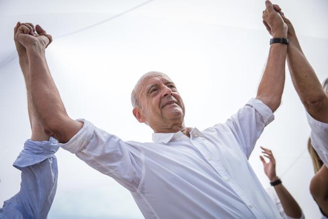 «Je refuserai toujours d'instrumentaliser les peurs», a déclaré Alain Juppé, à Chatou, le 27 août.