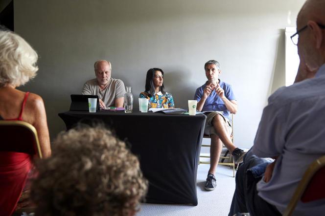 L'atelier «lutte contre la pollution de l'air »avec Karima Delli.